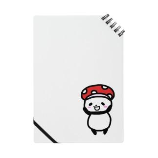 キノコ帽子のしのぱん Notes