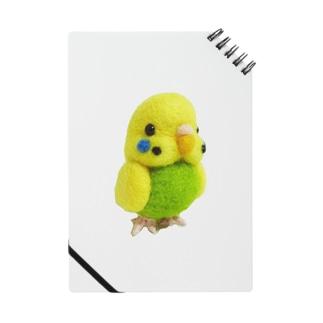 セキセイインコ黄緑 ノート