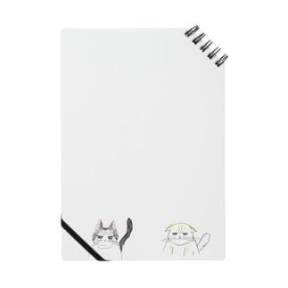 ふてぶてしい顔の猫のつがい Notes