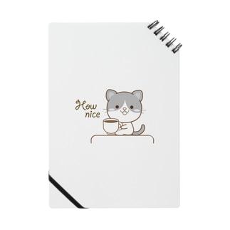 黒白猫のシンプルモノトーン Notes