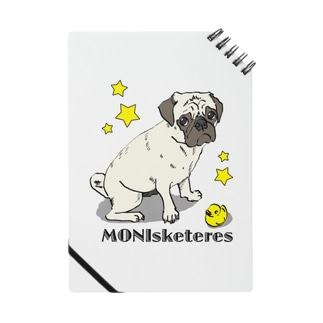 【MONIsketeres】ひよことパグ Notes