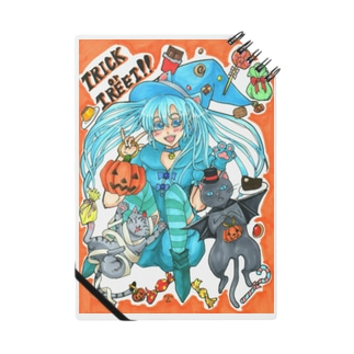 ⋆⸜🍭trick or treat🍬⸝⋆魔法少女miku with 使い魔にゃんズ Notes