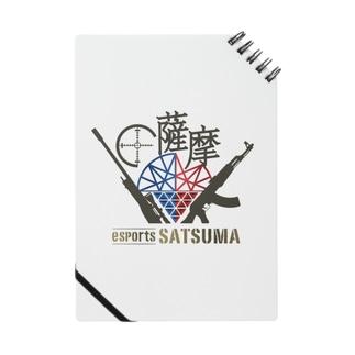 esports薩摩ロゴ入りノート Notes