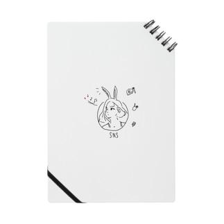 SNSアイコンgirl Notes