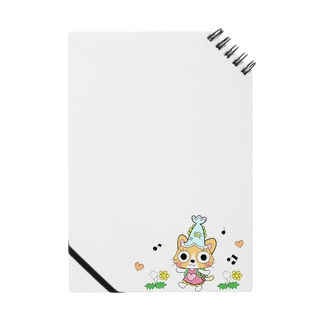 猫のみーちゃん(ピクニック小) Notebook