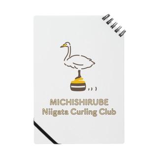 ミチシルベ新潟カーリングクラブ公式グッズ Notes