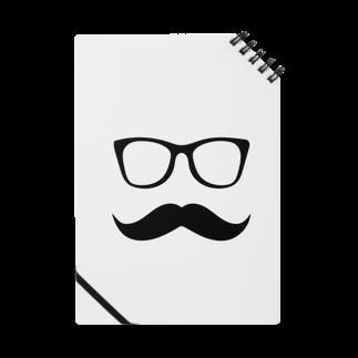 n3hide1982のMFD 黒縁眼鏡と髭 Notes