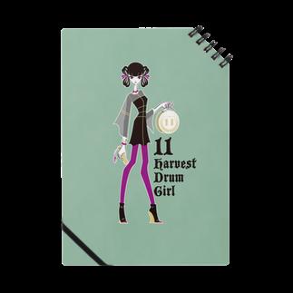 tomokomiyagamiのHarvest Drum Girl ノート