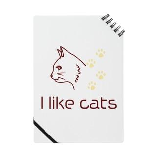 シンプルな猫好きに Notes