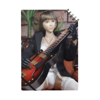 人形写真:ギターを弾く美少女 Doll picture: Pretty guitar player Notes