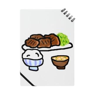 文字なし焼肉定食 Notes