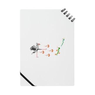 ヘビクイワシの百裂キック Notes