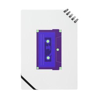カセットテープ青 Notes