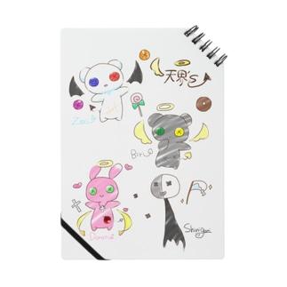 天界sグラフアートノート Notes