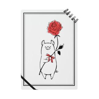 豚薔薇ノート Notes