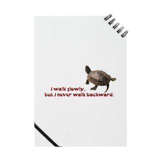 I walk slowly, but I never walk backward. Notes