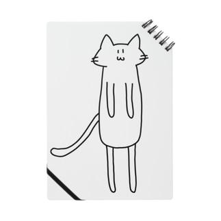 手足の長いネコ Notes