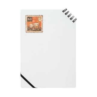 仲良しフクロウの魔法の切手 Notes