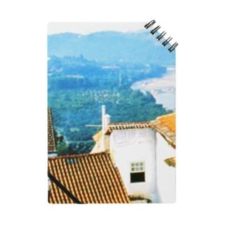 ポルトガル:コインブラの風景写真 Portugal: view of Coimbra Notes