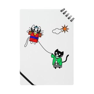たまとクロの凧揚げ Notes