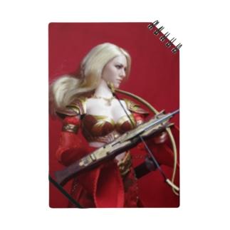 ドール写真:クロスボウを持つ金髪の美女戦士 Doll picture: Blonde worrior with a crossbow Notes