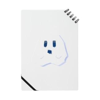 白にとけこむカクカクしたおばけ Notes