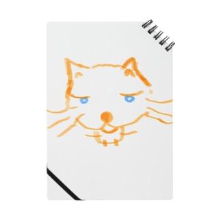 オレンジ色の猫 ねこっと Notes