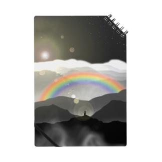 頂きからの虹 Notes