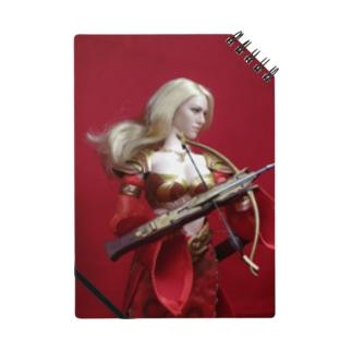 人形写真:クロスボウを持つ美女戦士 Doll picture: Blonde worrior with a crossbow Notes