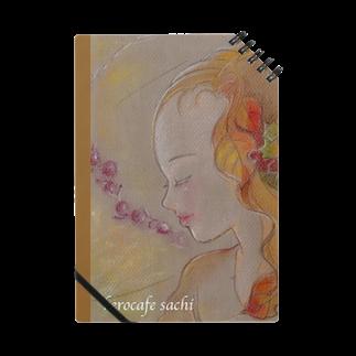 kerocafeの秋の妖精シリーズ ノート
