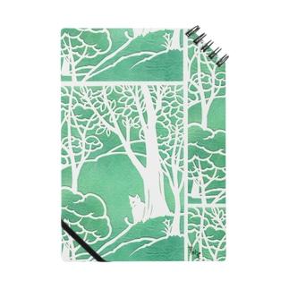ミントの森の猫 ノート