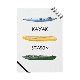 KAYAK SEASON Notes