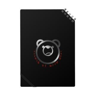 afraid of wild bear.Black Notes