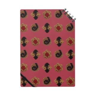 毛糸のミニクッキー パターン Notes