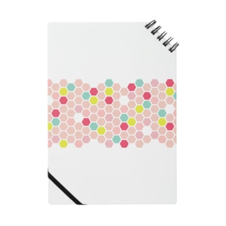 pink honeycomb Notes