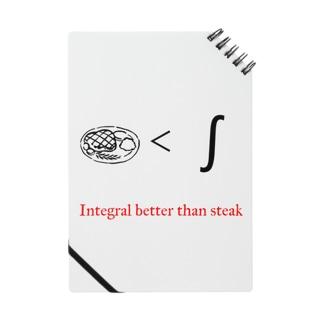Integral better than steak Notes