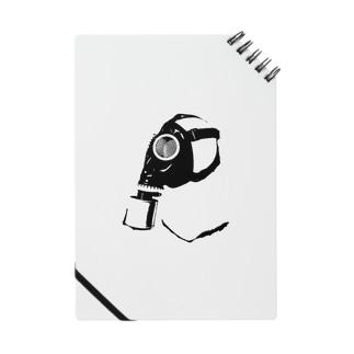 ガスマスク (黒) Notes