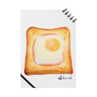 エッグトースト ノート