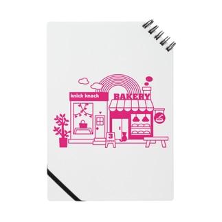 雑貨屋&パン屋 ノート