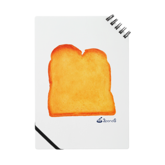 3pondSのトースト ノート