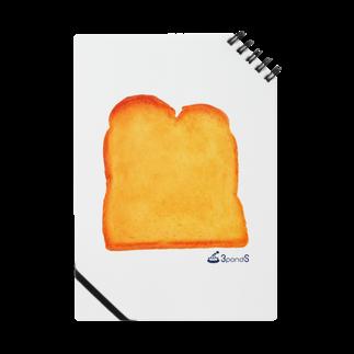 3pondSのトースト Notes