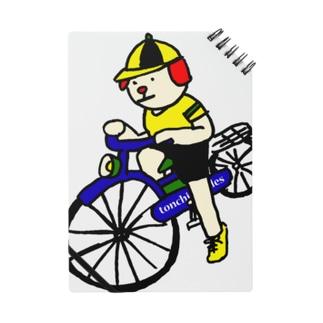 ウクちゃんと自転車 Notes