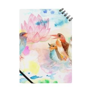 青い鳥がなくとき -蓮の花- Notes
