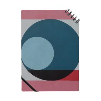 レターオールソーツのGeometric Letter series - Berry Mint 'Q' Notes