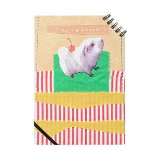 ふくちゃんの毎日。のクリッターラインさん家のワピコちゃん1 Notebook