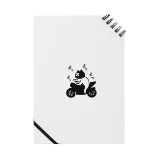 バイクに乗るねこ Notes