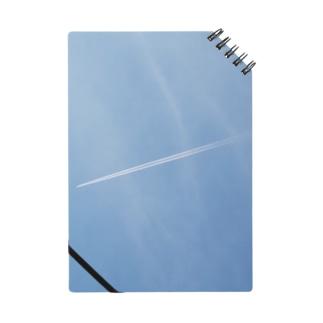 空の写真シリーズ 飛行機雲ちゃん Notes