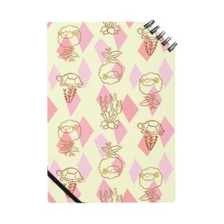 【メリのすけフレンズ】(ピンク) Notes