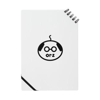 orzさん(眼鏡、修正版) Notebook