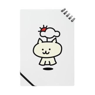 【SALE】てるてるネコ(通常) ノート